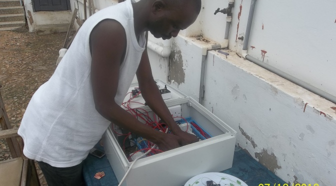From Driver to Engineer: Meet Gambian Man Who Develops Mobile Switch Technology