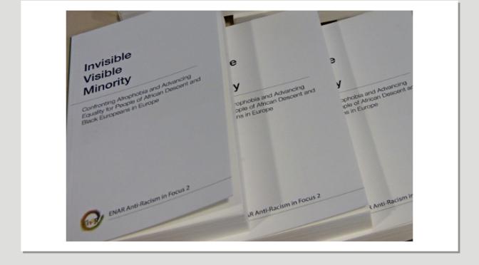 """Synlig med ändå osynlig! Svensk lansering av boken """"Invisible Visible Minority"""" i Malmö"""