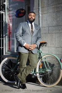 Godwyll Osei-Amoako, ordförande för Centrum mot rasism Foto: Fredrik Bergenkvist, Afropé