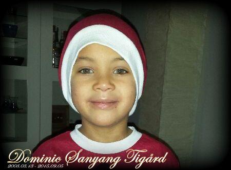 Till minne av Dominic Sanyang Tigård – tänk gärna på Barncancerfonden