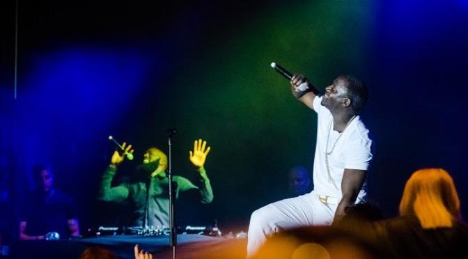 Fler bilder från konserten med Akon i lördags