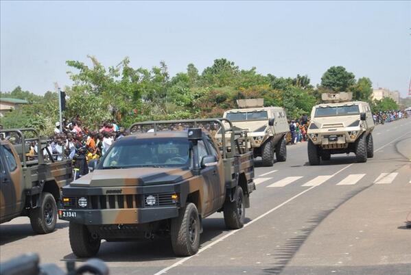 JUST NU: Militären har tagit över styret i Burkina Faso