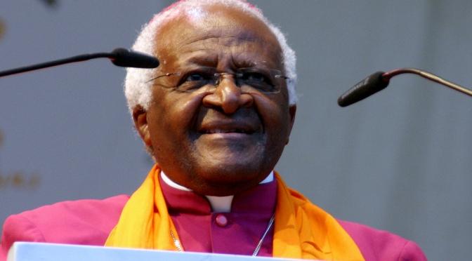 Desmond Tutu uppmanar världens ledare att agera mot klimathotet