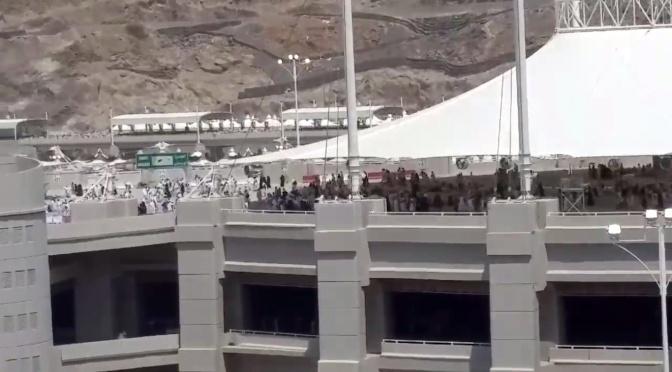 JUST NU: Minst 310 personer ihjältrampade i Mecka