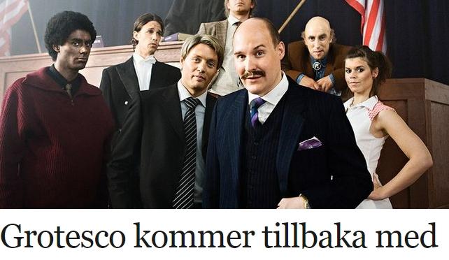 SVTs Grotesco marknadsförs med Blackface (Uppdaterad)