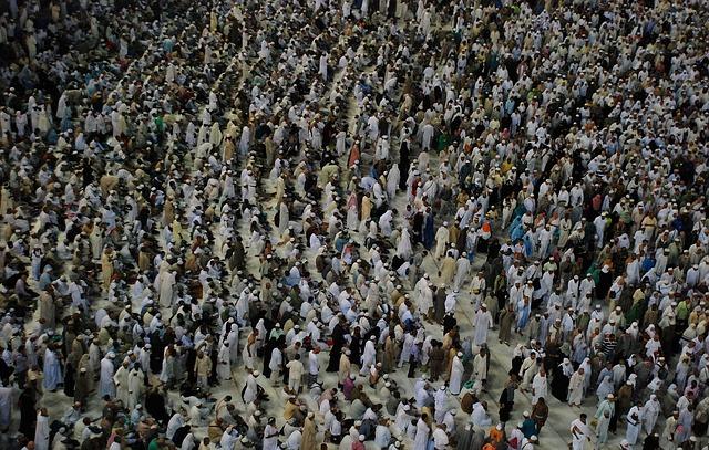 JUST NU i Mecka: minst 717 döda och 863 skadade – afrikanska pilgrimer får skulden