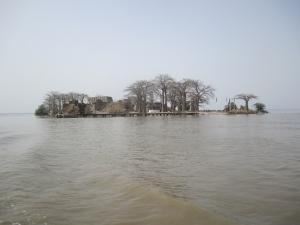 Kunta Kinte Island i Gambia, där en del av den transatlantiska slavhandeln utspelade sig Foto: Fatou Touray, Afropé