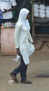 Flickan på bilden har inget med artikeln att göra Foto: Fatou Touray, Afropé