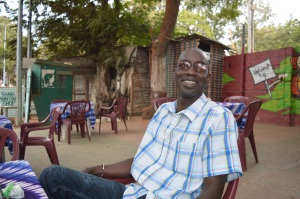 Lamin Njie, ägare av RM Tours Foto: Fatou Touray, Afropé