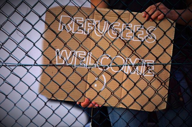 """Ta dig samman, sluta gnäll och skrapa den där """"flyktingkrisen"""" på ytan"""