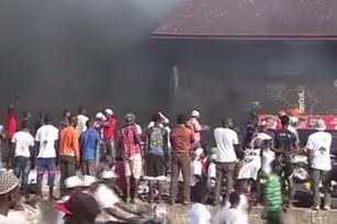 Oroligheter med flera döda och skadade i Guinea inför valet idag