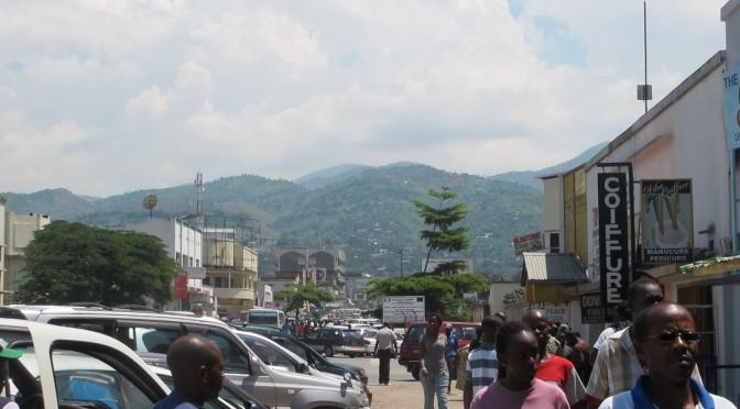 Åtta människor dödade i Burundis huvudstad Bujumbura i söndags
