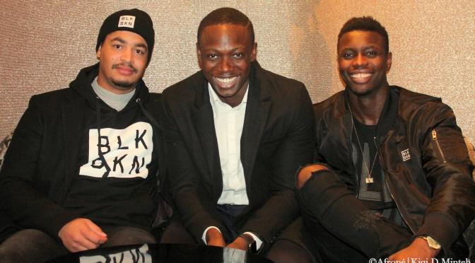 Afropé träffar männen bakom nya klädmärket Blvck Skin