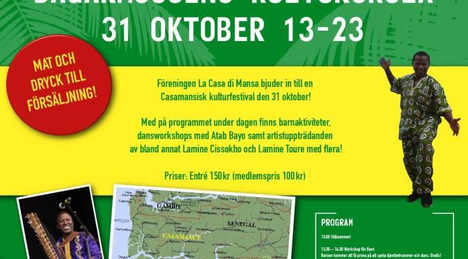 Kulturfest à la Casamance – i Bagarmossen