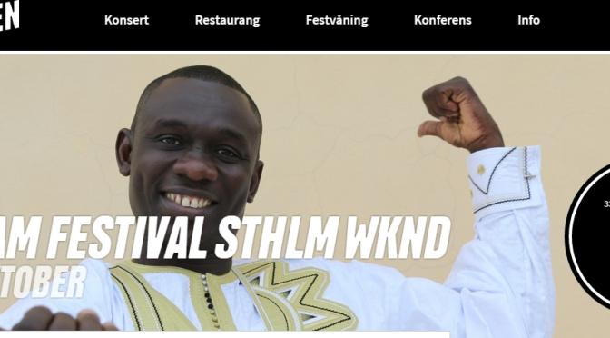Selam Festival presenterar Afrikansk afton med Pape Diouf och Kumba