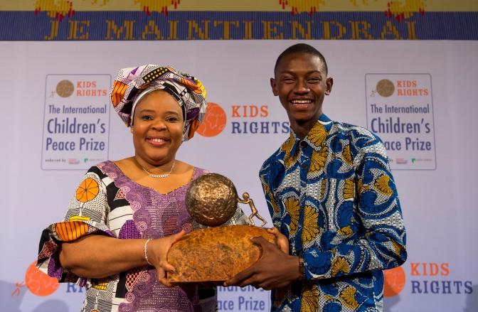 Årets pristagare av barnens internationella fredspris har utsetts