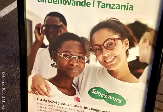 Välgörenhetsinsamlingar utan bilder på fattiga afrikaner!