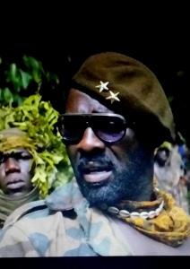 Idris Elba i rollen som krigsherre - Skärmavbild, Afropé
