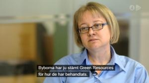 Skärmdump från Kalla Fakta, TV4