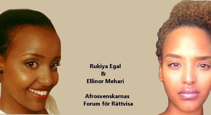Afrosvenskar blir levande måltavlor