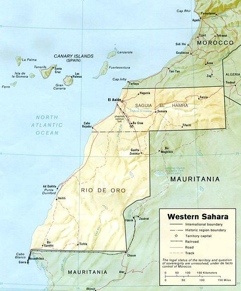 Erkännandet av Västsahara – inte på bordet