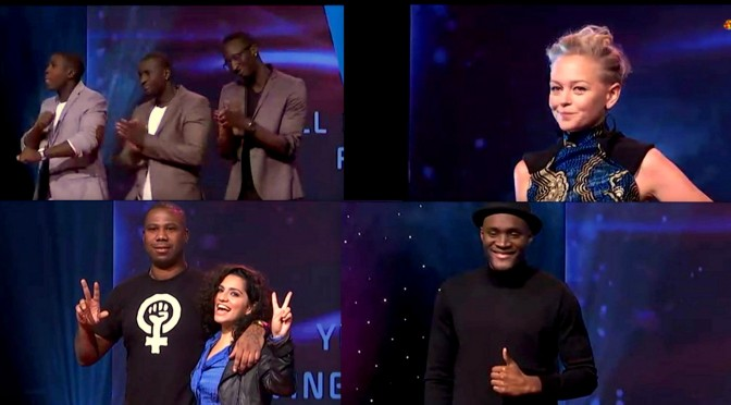 Afrosvensk representation i Melodifestivalen 2016