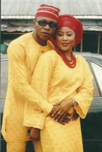 Klädedräkter från Nigeria Foto: Juvibro