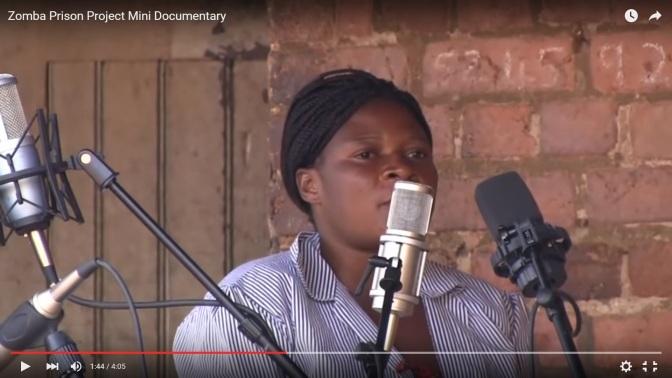 Grammynominerade fångar från Malawi
