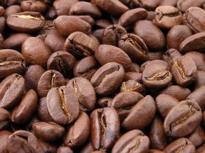 Kaffebönor. Foto: MarkSweep