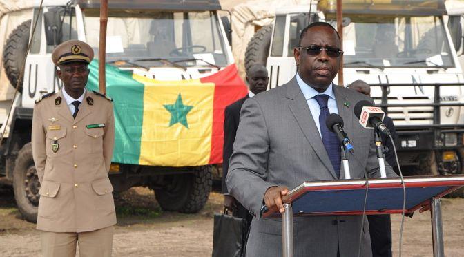 Senegals president Macky Sall vill minska sin egen makt