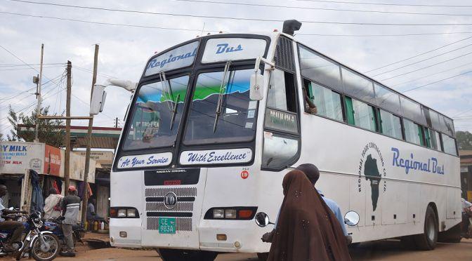 Afrikas första solenergidrivna buss gör entré i Uganda