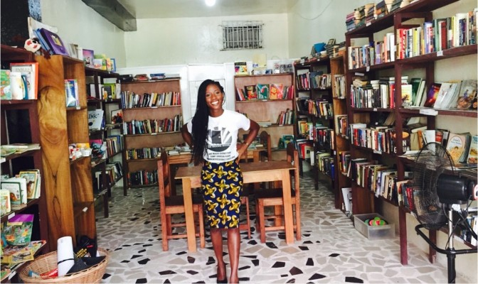 One Moore Bookstore – ger barnen i Liberia en fristad