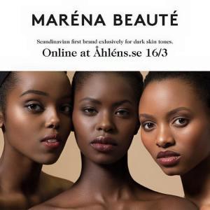 Maréna Beauté lanseras på Åhléns - Bild: Maréna Beauté