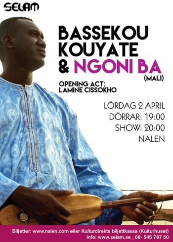 Selam tar Bassekou Kouyaté & Ngoni Ba från Mali till Nalen