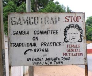 Gamcotrap, en av de organisationer som jobbar mot könsstympning. Foto: Nichol Brummer