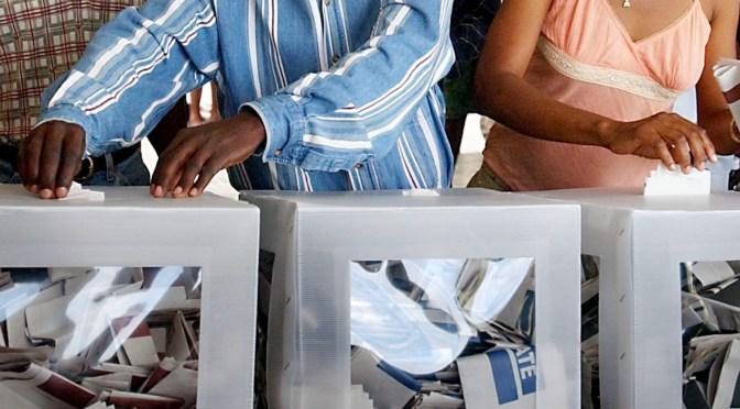 Flera länder i Afrika har gått till val