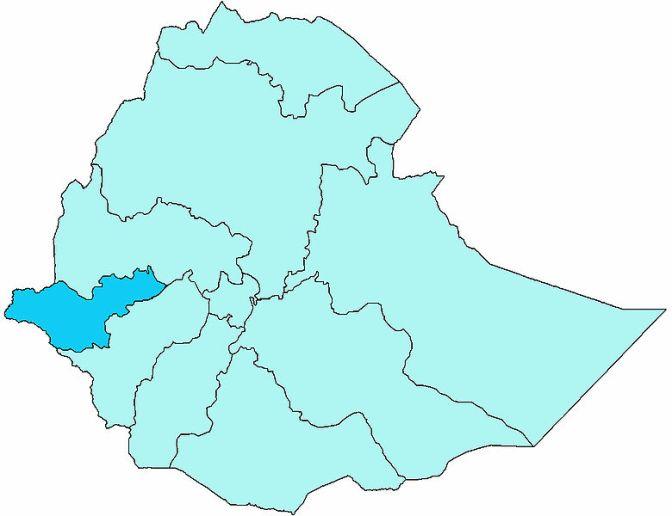 Över 200 döda och över 100 barn har kidnappats i Etiopien