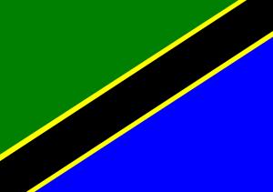 Tanzanias flagga