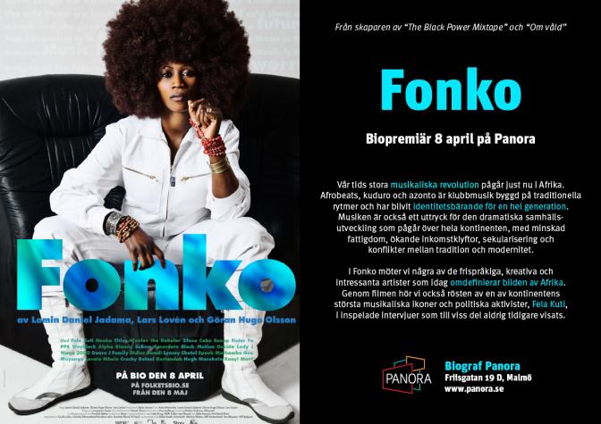 BIOTIPS: Fonko har premiär på Folkets Bio