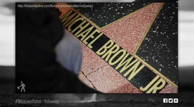 #BlackLivesMatter på Hollywood Walk of Fame