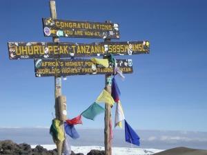 Tanzanias högst punkt