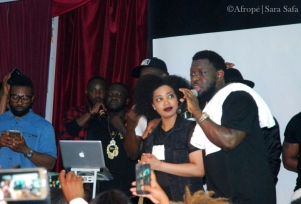 Timaya med Salem Yohannes från Laces Crew - Foto: Sara Safa | Afropé