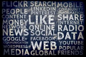 nedstängning sociala medier