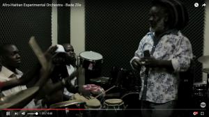 Afro-Haitian Experimental Orchestra. Foto: Skärmavbild från Youtube.