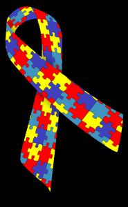 Symbol för autism. Bild: Pixabay