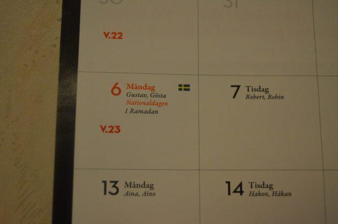 """""""Svenskfientlig"""" kalender"""