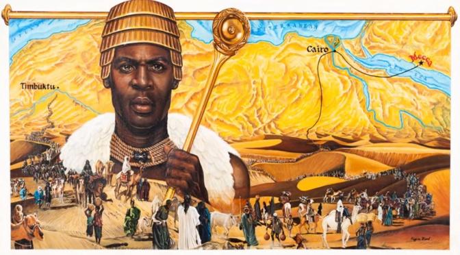 Världens rikaste människa genom tiderna – kung av Mali