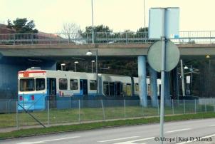 6:ans spårvagn på väg ut mot Länsmansgården - Foto: Afrropé | Kiqi D Minteh