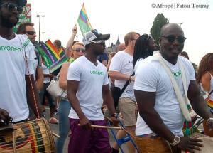 En självklarhet i Stockholm, Sverige (Stockholm Pride 2014) - Foto: Afropé Fatou Touray