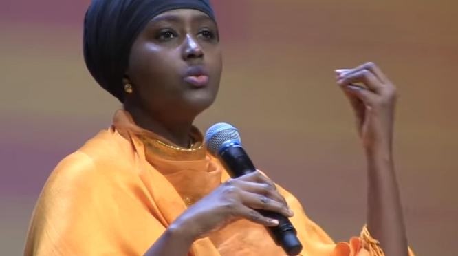Första kvinnliga presidentkandidaten i Somalia